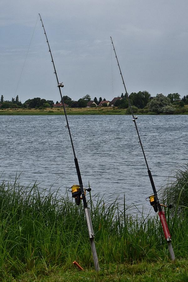 Рыбалка во Франции. Удочки Ursus